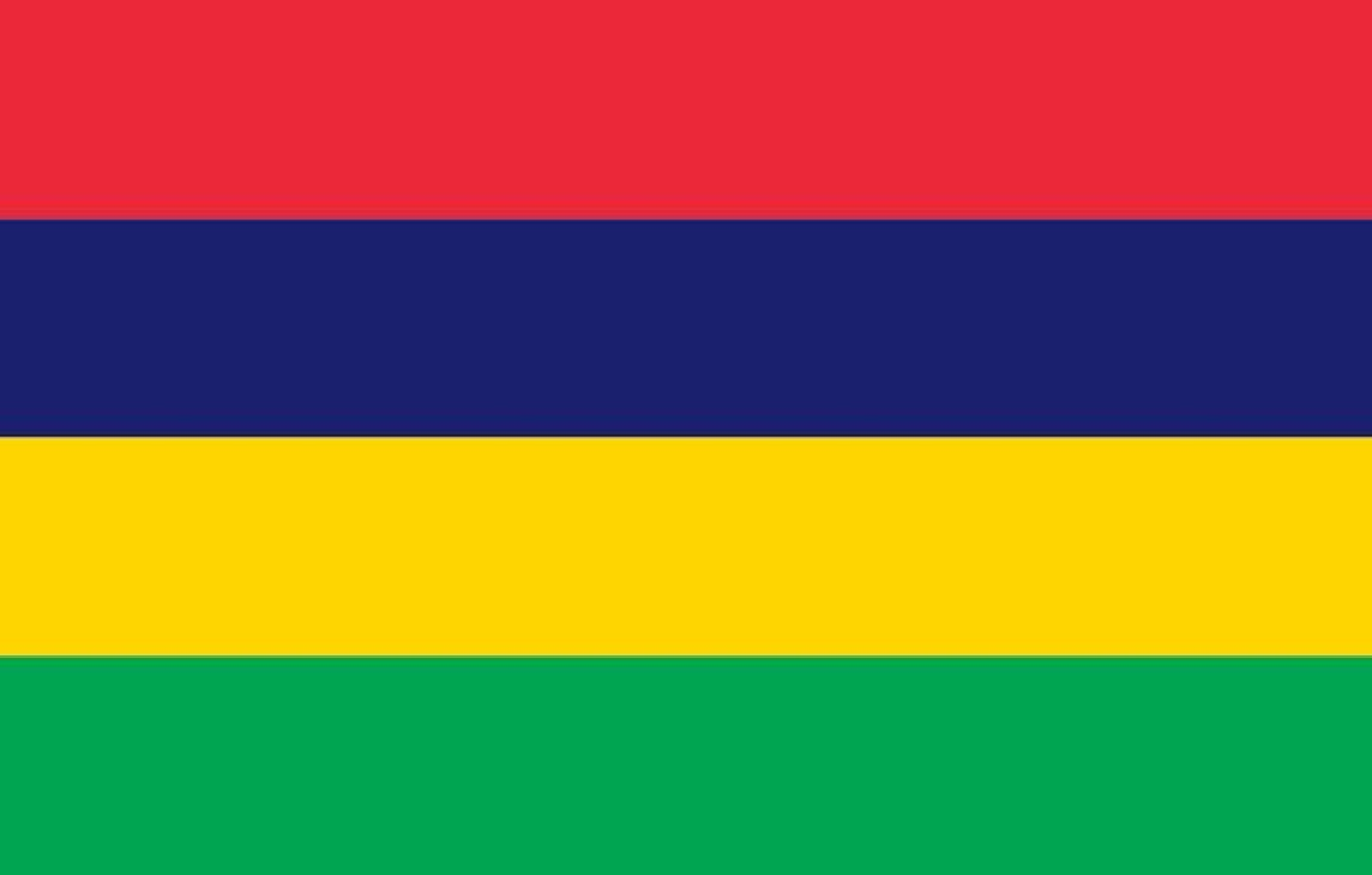 Mauritian country flag